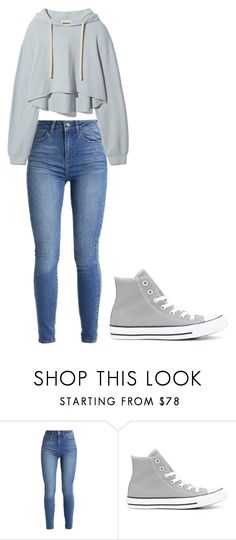 """Untitled #338"" by thenerdyfairy on Polyvore featuring Converse"