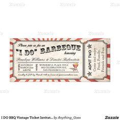 Vasilena angelova angelova0531 on pinterest i do bbq vintage ticket invitations stopboris Image collections