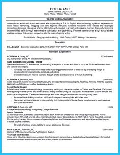 Resume Example For High School Student Sample Resumes - http://www ...