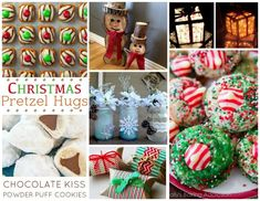 Hershey's kiss cookies.  Fun Finds Friday including Christmas Fun Food & Craft ideas!