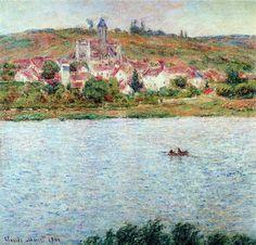 Vetheuil, Morning Effect - Claude Monet