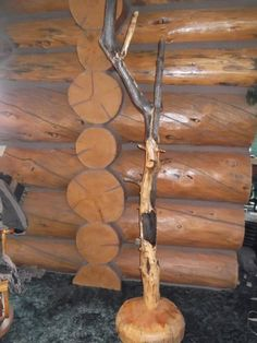Coat Rack ~ Log Furniture