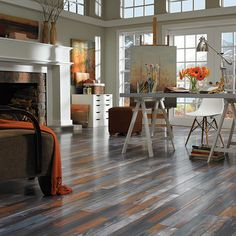 New floor is in pergo max river road oak lowe 39 s my for Pergo flooring stockists
