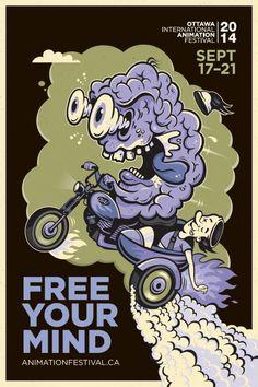 Adeevee - 2014 Ottawa International Animation Festival: Free your mind