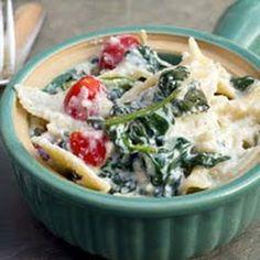 Veggie Ricotta Pasta... making this tonight!