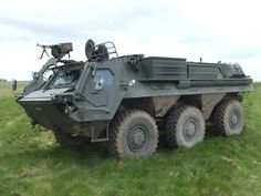 British Army Fuchs NBC Reconnaissance vehicle (Image Credit – Plain Military)