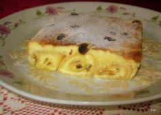 Túrós palacsintafelfújt My Recipes, Cake Recipes, Cooking Recipes, Griddle Cakes, Hungarian Recipes, Hungarian Food, Crepe Cake, Recipes From Heaven, Food Humor