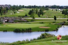 $25 for 18 Holes with Cart at Tanna Farms Golf Club in Geneva near St. Charles ($65 Value. Expires July 1, 2018!)