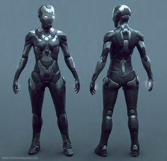 Iron Woman by Ste Flack on ArtStation. Tony Stank, Iron Men 1, Iron Man Art, Cosplay Armor, Superhero Design, Suit Of Armor, Iron Maiden, Action Movies, Character Design