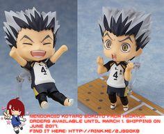 Nendoroid Kotaro Bokuto from Haikyu!!   #rinkya #japan #fromjapan #nendoroid #haikyu