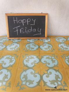 Sadus Tiles handmade cement tiles from Bali Indonesia
