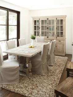 Lovely Slip Cover for Dining Chairs Will Makes Exciting Dining Room: Cool Slip Covers For Dining Chairs With Wood Cabinet Rack Wood Dining Table Fur Rug Brown Windows Frames Wooden Chairs Wooden Floor Lovely Slip Cover For Dining Chairs Will Makes Exciting Dining Room ~ twotendesigns.com Chairs Inspiration