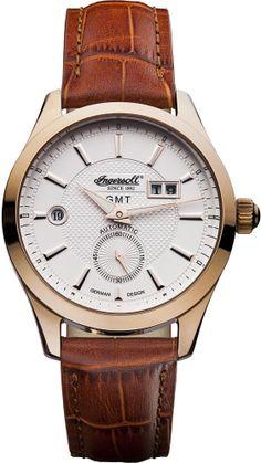 Zegarek męski Ingersoll IN8703RWH - sklep internetowy www.zegarek.net Telling Time, Watches For Men, Men's Watches, Automatic Watch, Chronograph, Accessories, Girly, Women's, Girly Girl