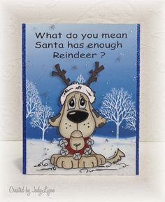 DTGD15 Reindeer? by jodylb - Cards and Paper Crafts at Splitcoaststampers