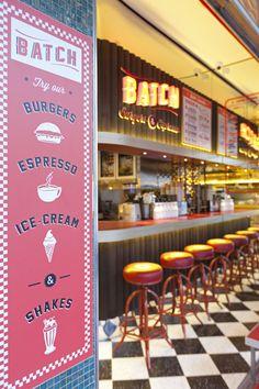 Batch Burgers and Espresso, Giant Design - Restaurant & Bar Design