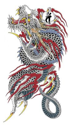 Dragons are one among photos which are the most well-liked tattoo themes. Dragons will not be solely lovely, incredible creatures coming straight from Land of Hearth. Japanese Dragon Tattoos, Japanese Tattoo Art, Japanese Tattoo Designs, Japan Dragon, Koi Dragon, 27 Tattoo, Home Tattoo, Knife Tattoo, Tiger Tattoo