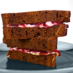 the chew | Recipe  | Carla Hall's Cranberry Orange Compote -used in this yummy gingerbread sandwich