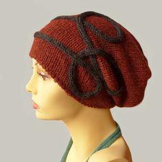 Baby Alpaca womens knit hat