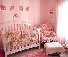 Baby Girl Nursery Ideas: Pink Paradise (via Parents.com)