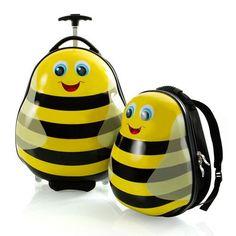 Bumble Bees Travel 2-PC Tote Luggage Bag Set