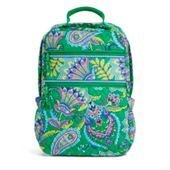 Tech Backpack in Emerald Paisley | Vera Bradley