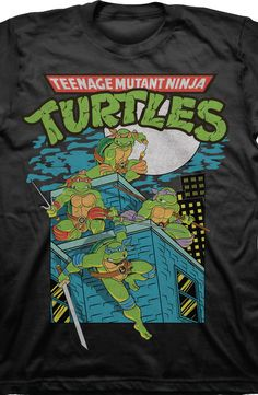 Turtles In The Night Shirt