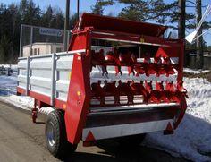 Echipa Avenue va pune la dispozitie Remorca de imprastiat gunoi de 4.5T   Dispozitivul de împrăștiere a gunoiului mono-axial este mașină agricolă multifuncțională destinată răspândirii unei gunoi de grajd, turbă, tei, compost etc.  La un pret foarte bun Pune