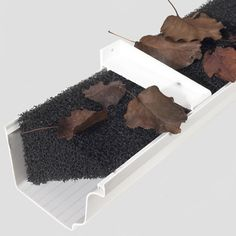 Keep your gutters clear of debris without impeding water flow with the Rain Gutter Foam Feet Gutter Guard. This foam guard is designed for K-style gutters and allows for the free flow of rai Gutter Leaf Guard, Aide Ménagère, Landscaping Supplies, Home Repairs, Simple House, Home Improvement Projects, Diys, Gardens, Landscaping