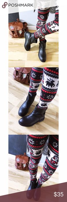 Forever 21 black moto boots NWOT! Black ankle moto boots from forever 21! Gold zipper & gold buckle✔️ make an offer❤️️no trades thank you Forever 21 Shoes Combat & Moto Boots