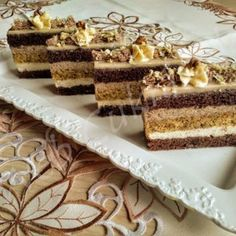Croation Recipes, Poppy Cake, Vanilla Cake, Sweet Treats, Good Food, Food And Drink, Sweets, Healthy Recipes, Snacks