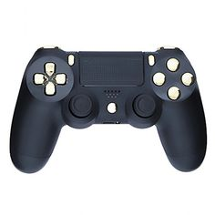Mod Freakz ShellButton Kit Color and Gold Collection  Matte Black Gold NOT A CONTROLLER For PS4 Gen 1 Controllers ONLY *** Be sure to check out this awesome product.Note:It is affiliate link to Amazon.