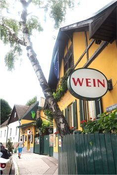 The quaint traditional wine taverns on the outskirts of Vienna. A must visit - and so close to all the main sights! Click through for your full 2 day itinerary for Vienna on While I'm Young travel blog.  Austria travel | pubs | bars | enchanting towns | Solo female travel in Europe | Quaint places