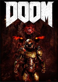 [OC] A bit late to the Party, but I made a Doom 2016 Poster! - Album on Imgur