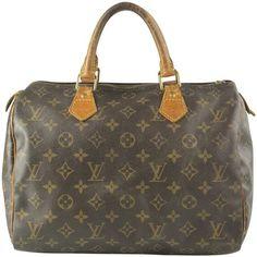 Louis Vuitton Monogram Canvas Speedy 30 Satchel. Save 68% on the Louis  Vuitton Monogram d92ef33907677