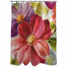 Thumbprintz Walk with Beauty 2 Shower Curtain