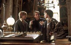 Director Chris Columbus, Rupert Grint and Daniel Radcliffe - The Chamber of Secrets