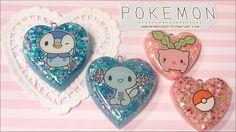 Pokemon resin charms  Love Xo