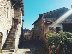 Paisajes de un pueblito medieval #Pérouges #France
