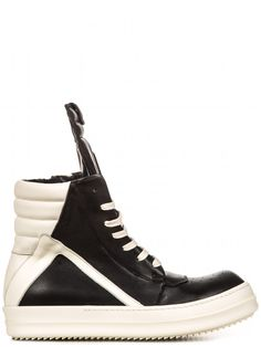 dee9149dfd2 Rick Owens  Geobasket Shoes ( 1145) Calf Leather
