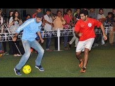 Ranbir Kapoor showing off his Football Skills