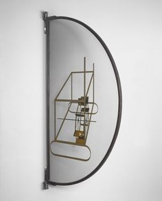 Philadelphia Museum of Art - Collections Object : Glider Containing a Water Mill in Neighboring Metals