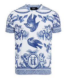 Unkut ceramic bird men t-shirt