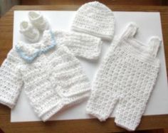 baby boy crochet outfits - Google Search