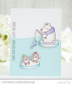 Cooler With You Card Kit - Keeway Tsao  #mftstamps