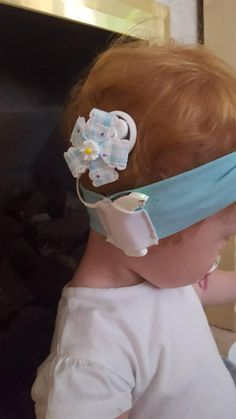 Cochlear implant bow decoration