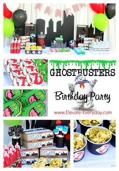 Ghostbusters Birthday Party Monday,  May 18, 2015Ghostbusters Birthday Party