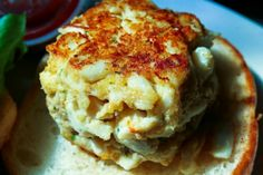 It doesn't get much better than Maryland crab cakes.
