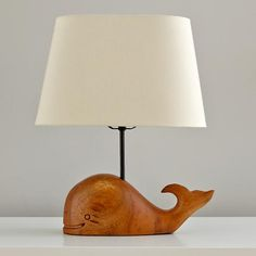 Thar She Glows Whale Lamp  | The Land of Nod