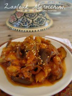 Zaalouk di melanzane alla marocchina (Foto passo passo)