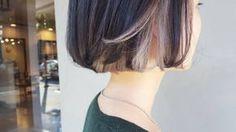いいね!100件、コメント4件 ― momoさん(@mmc929)のInstagramアカウント: 「シルバーグレーのインナーボブよ ハイセンスな彼女にはあえてヘアーをモノトーンカラーで。 秋服をがっつり楽しんでくれそう✨ #hairstyle #haircolor #color…」